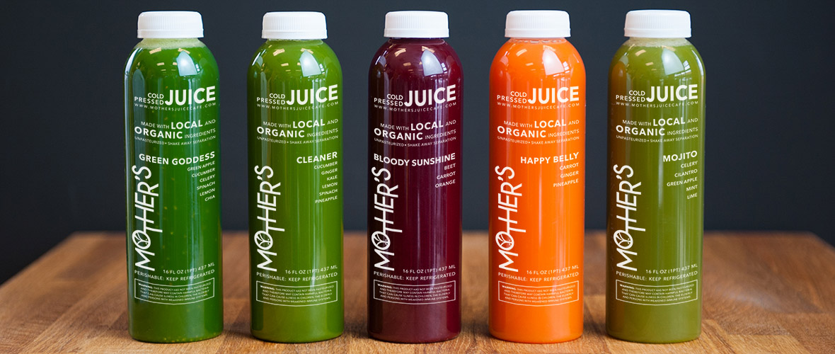 cold pressed juice cleanse for healthy weight loss in Bend, Oregon