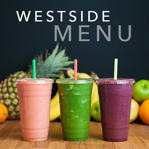 Westside Cafe menu features healthy lunch and breakfast in Bend, Oregon